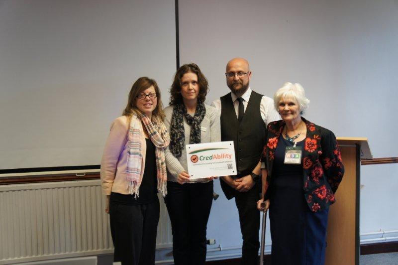Successful recipients of CredAbility Markin Northampton